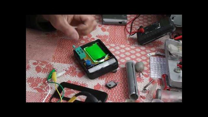 Доработка транзистор тестера Mega328 LCR ESR