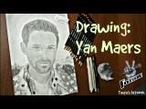 Drawing: Yan Maers (Ян Маерс - участник шоу Голос 5 сезон) - Tanya's ArtWork