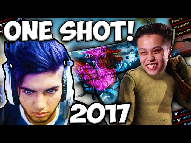 CS:GO - WHEN PROS ONLY NEED ONE SHOT!! (BEST 1TAPS 2017)