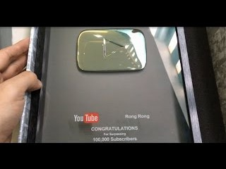 Unboxing Youtube Silver Play Button Gone Wrong