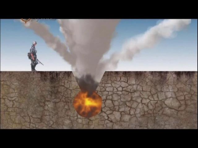 Осколочно-фугасные действия снаряда