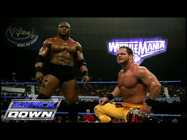 Chris Benoit Bobby Lashley vs. Finlay JBL: SmackDown, February 17, 2006