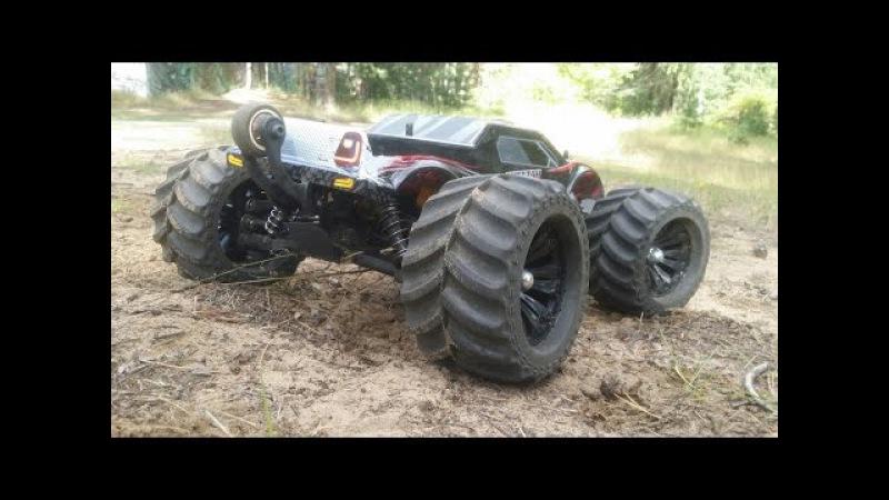 Тест драйв МОНСТРА JLB Racing CHEETAH RC Car