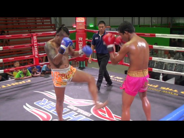 Kunchan (Tiger Muay Thai) vs Ninphet (Phuket Thai Fight) @ Rawai S