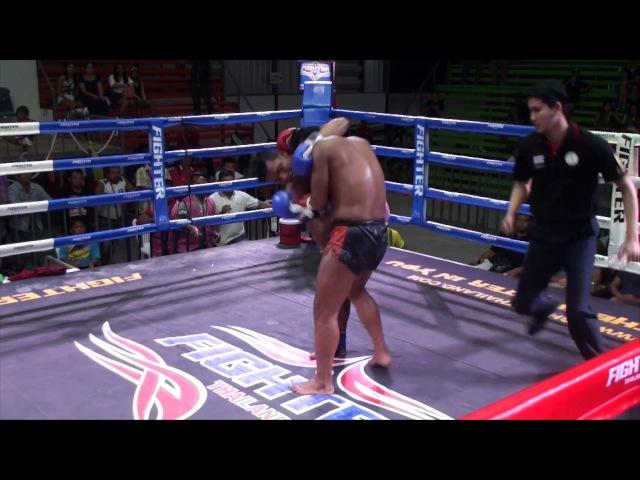 Kunchan (Tiger Muay Thai) vs Sueapayak Or Pechpenang 17/1/17