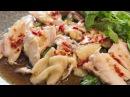 Закуска из курицы в азиатском стиле. Блюда из курицы.