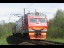 Электропоезд ЭТ2М-096 со злым машинистом, Ленобласть / EMU ET2M-096
