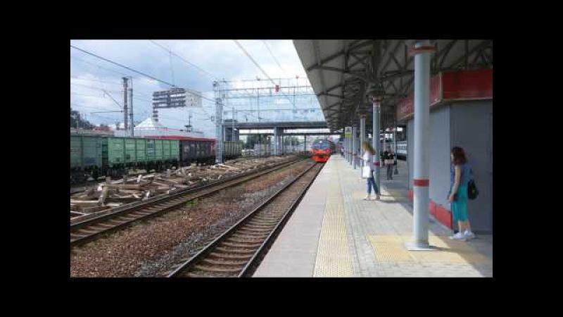 ЭД4МК-0074 Нара-Москва(Киевский вокзал)