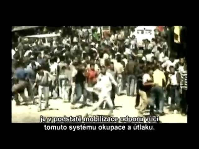 Židoizraelská sionistická okupace Palestiny - Occupation 101 - Dokument cz