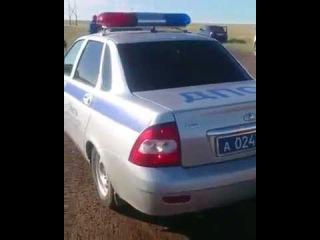 Жуткая авария на трассе из-за саранчи попала на видео ставропольчанки