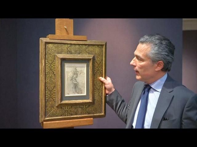 Рисунок да Винчи признали национальным достоянием Франции (новости)