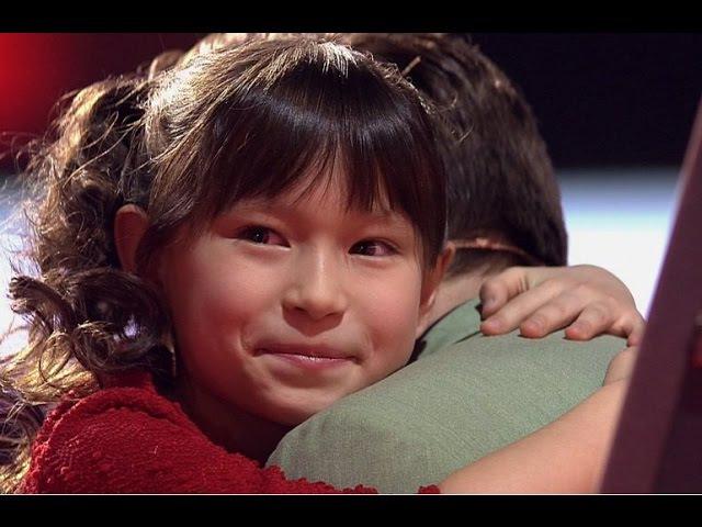 Японка на Голос Дети 4