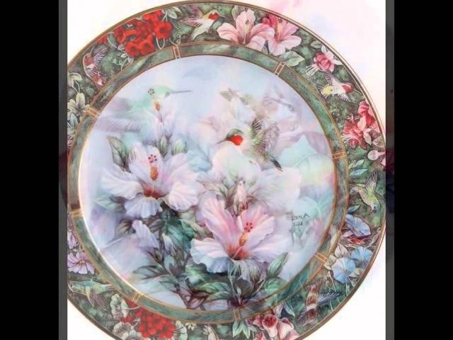 Фарфор от Lena Liu (Лена Лю) (ручная роспись и лепка)