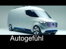 Mercedes Vision Van future MB Sprinter concept: drones semi-automatic delivery systems