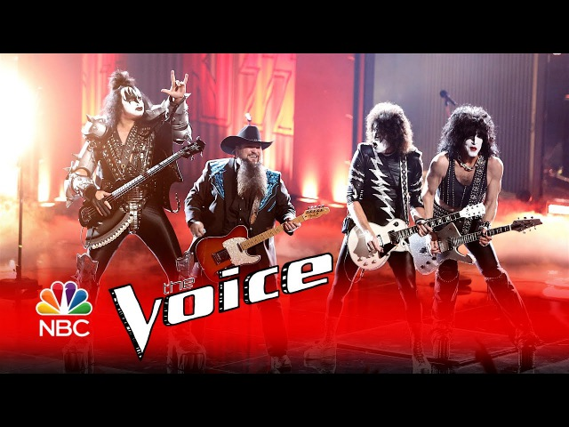 The Voice 2016 Sundance Head and Kiss - Finale: Detroit Rock City/Rock and Roll All Nite