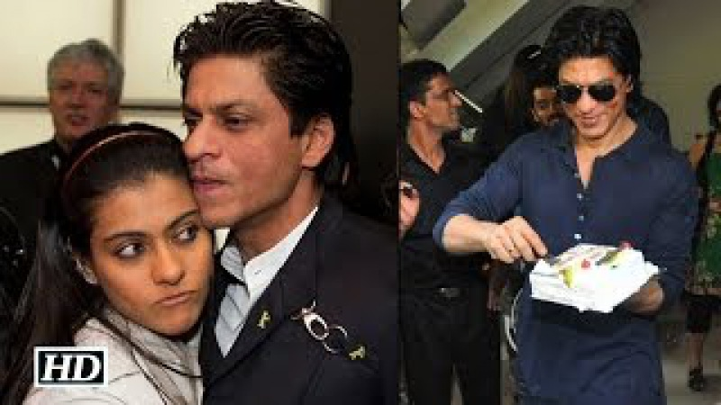 Kajol Celebrates SRK's Birthday In 'Dilwala' Style