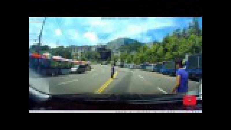 Неудачные подставы на дорогах ТОП 10