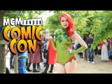 Maizy Marzipan Poison Ivy Cosplay - MCM London Comic Con LatexFashionTV