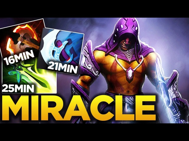 9k Miracle- back to Original AM Item Build - Anti-Mage Legend Dota 2