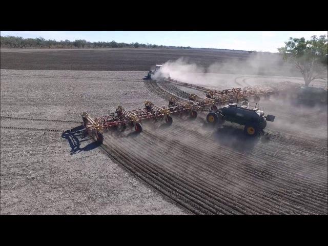 Extended video Zells Planter 2016 - Largest Air seeder