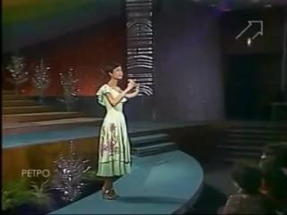 Роза Рымбаева -  Любовь настала (Песня года 79)