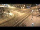 Автомобиль ДПС перевернулся в Красноярске