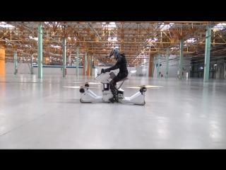 Hoverbike Scorpion-3 — летающий транспорт будущего