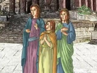 30 сентября. Святые мученицы Вера, Надежда и Любовь и их мать София