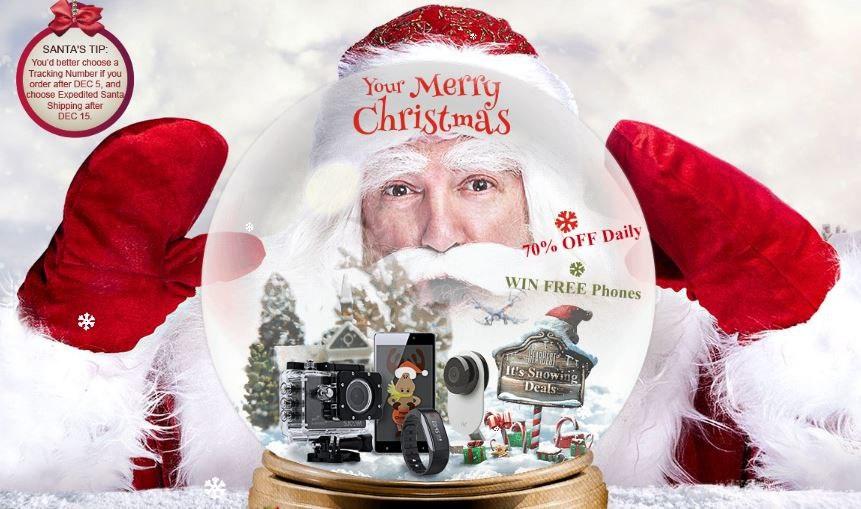GearBest: Новогодняя акция - распродажа от Gearbest