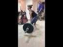 Валентина Илюшина, становая тяга 105 кг на 3 раза.