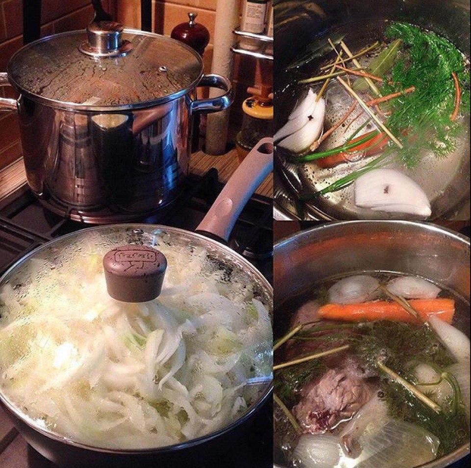 Карамелизация лука для лукового супа