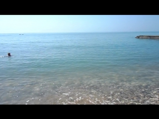 мы и море...и ни души)