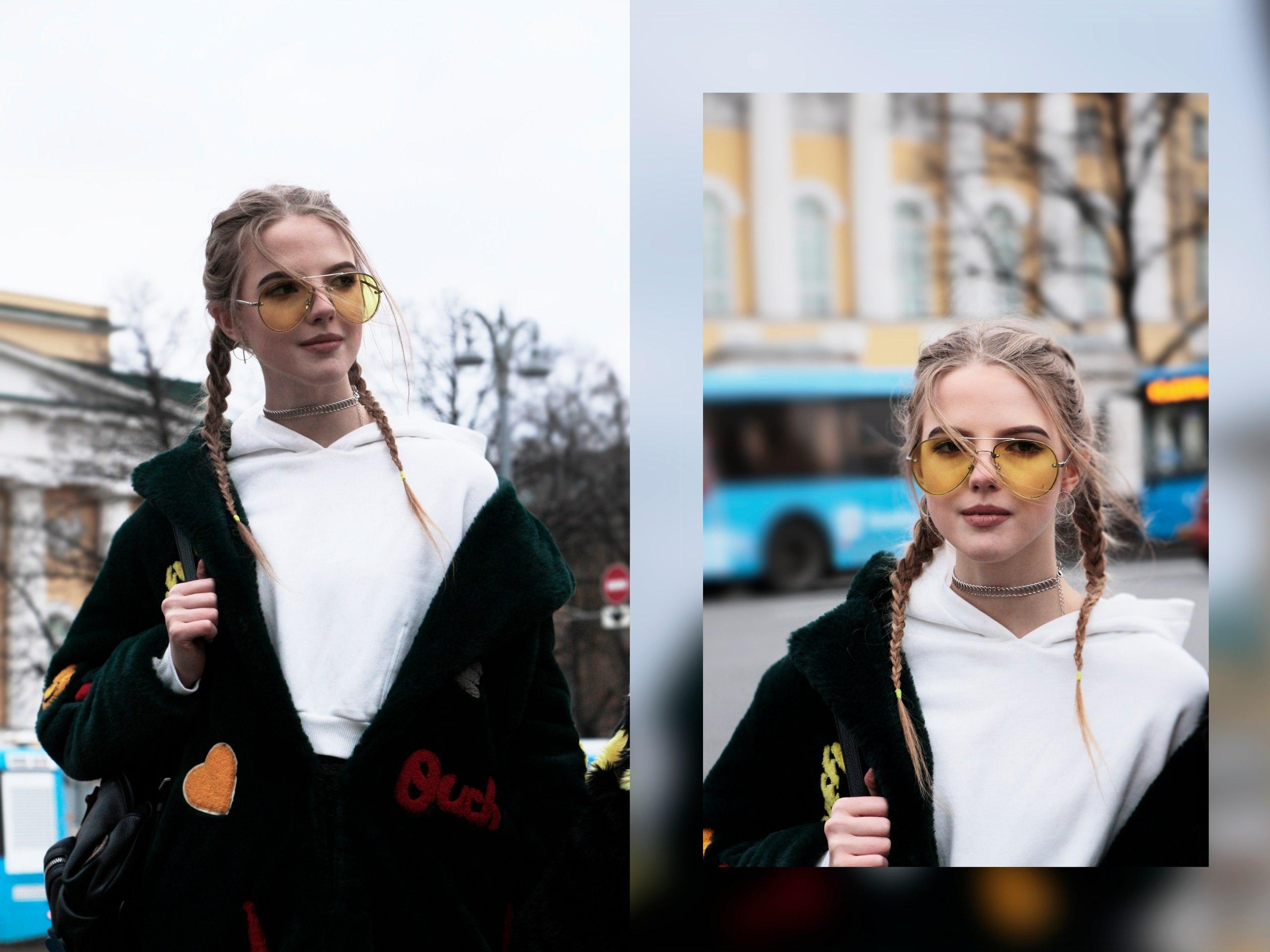 Street fashion blogger