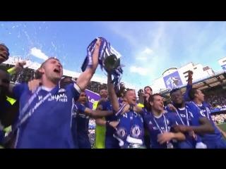 Chelsea FC - The Premier League trophy is back where it belongs! #ChelseaChampions