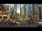 Игровой процесс за Черную Манту в Injustice 2. Персонаж будет доступен в сентябре