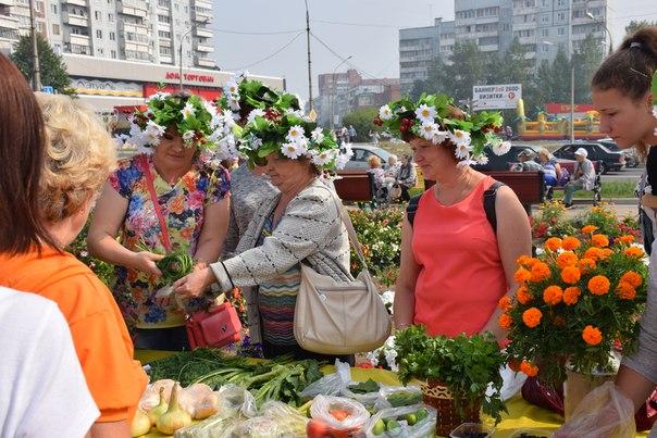 В Усть-Илимске состоялся праздник «Урожай 2017»