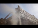 ЖБФ. Демонтаж здания