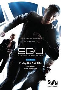 Звездные врата: Вселенная 1-2 сезон 1-20 серия ТВ3   SGU Stargate Universe