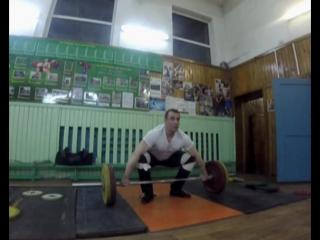 Фитнесист в гостях у штангистов: Рывок 101 кг