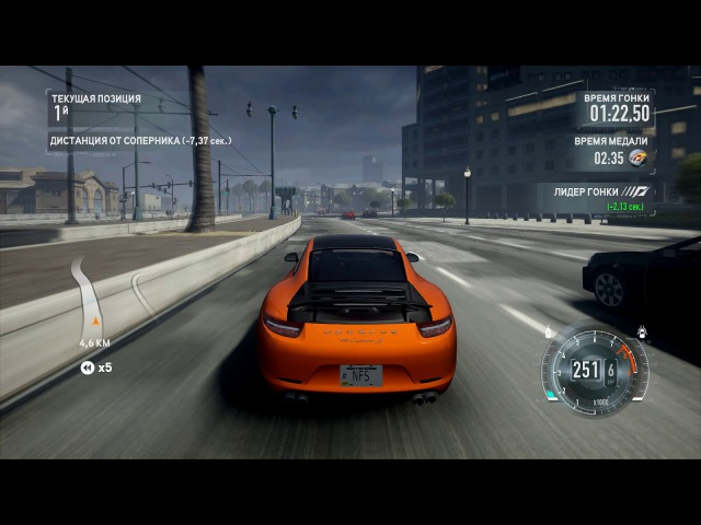 Need for Speed™ The Run Limited Edition - Платина на Porsche 911 Carrera S