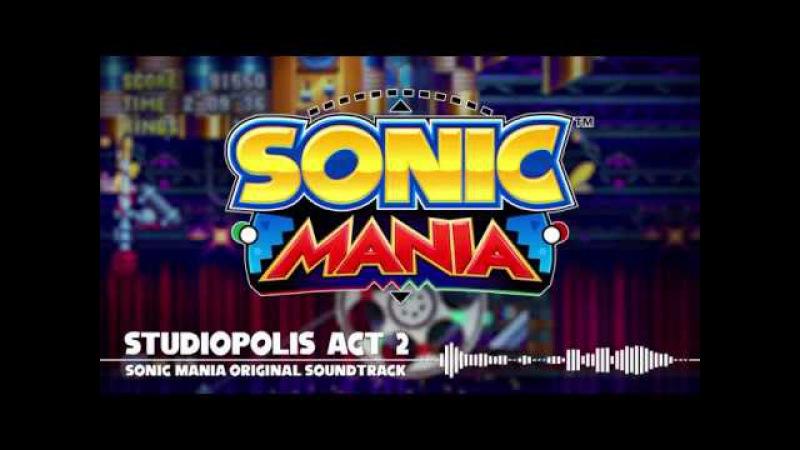 Sonic Mania OST - Studiopolis Act 2
