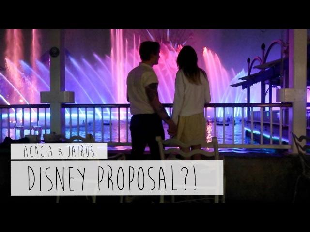 DISNEY PROPOSAL?! | ACACIA JAIRUS