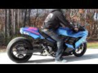 Garwood Custom Cycles Showcases the 2012 - 2013 ZX14 Brocks Alien Head Exhaust (Motorcycle Video)