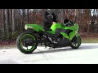 2008-2011 Kawasaki ZX14 Voodoo Exhaust (Motorcycle Video)