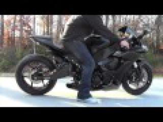 2008-2010 ZX10 Voodoo Slip-on Sport Bike Exhaust @ Garwood Custom Cycles -- (Motorcycle Video)