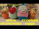 Tutorial uova all'uncinetto,easter egg crochet
