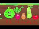 ОВОЩИ Развивающая песенка мультик про полезную еду и синий трактор для детей малышей