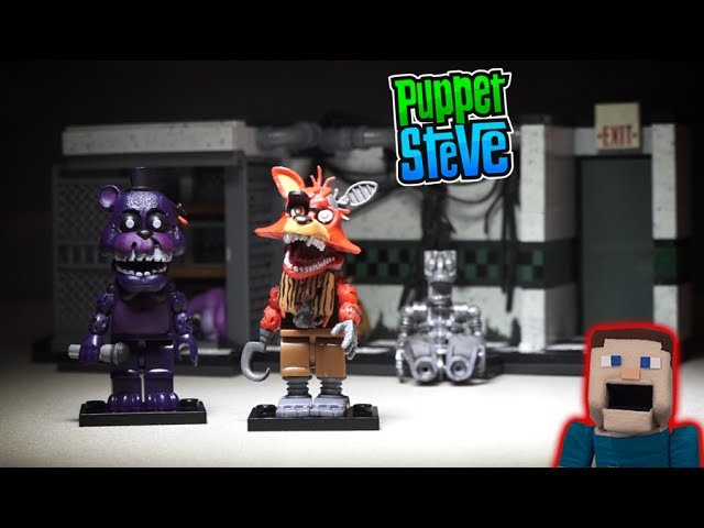 Five Nights at Freddy's fnaf PARTS AND SERVICES McFarlane toys TRU Shadow Freddy Playset Unboxing