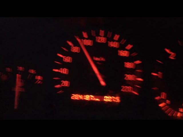 BMW E36 325 tds acceleration 0-100