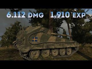 World of Tanks Ikv 90 Typ B | 6.112 DMG | 7 Kills